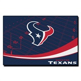 "Houston Texans NFL ""Extra Point"" Large Tufted Rug"