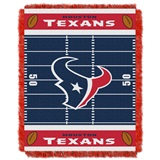 "Houston Texans NFL ""Field"" Baby Woven Jacquard Throw"
