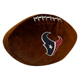 Houston Texans NFL  Football Shaped 3D Plush Pillow