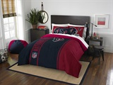 Houston Texans NFL Full Applique Comforter Set