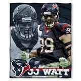 "Houston Texans NFL ""J J Watt"" Players HD Silk Touch Throw"