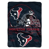 "Houston Texans NFL ""Prestige"" Raschel Throw"
