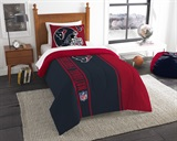 Houston Texans NFL Twin Comforter and Sham Set