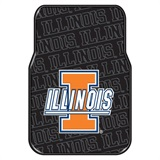 Illinois Car Floor Mat Set
