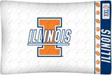 Illinois Fighting Illini Micro Fiber Pillow Case