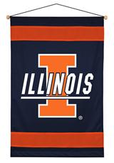 Illinois Fighting Illini Sidelines Wallhanging