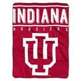 "Indiana Hoosiers NCAA ""Basic"" Raschel Throw"