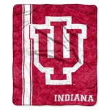 "Indiana ""Jersey"" Sherpa Throw"