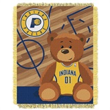 "Indiana Pacers NBA ""Half-Court"" Baby Woven Jacquard Throw"