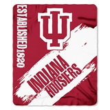 "Indiana ""Painted"" Fleece Throw"