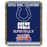 "Indianapolis Colts ""Commemorative"" Woven Tapestry Throw"