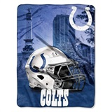 "Indianapolis Colts NFL ""Heritage"" Silk Touch Throw"