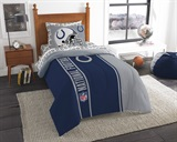 "Indianapolis Colts ""Soft & Cozy"" Twin Comforter Set"
