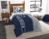 Indianapolis Colts Twin Comforter & Sham Set