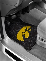 Iowa Car Floor Mat Set