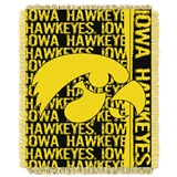 "Iowa ""Double Play"" Woven Jacquard Throw"