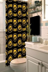 Iowa Hawkeyes NCAA Shower Curtain