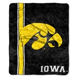 "Iowa ""Jersey"" Sherpa Throw"