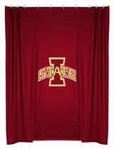 Iowa St Cyclones  Shower Curtain