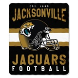 "Jacksonville Jaguars NFL ""Marquee"" Fleece Throw"