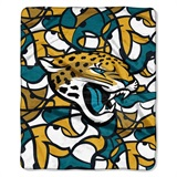 "Jacksonville Jaguars NFL ""Quicksnap"" Raschel Throw"