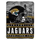 "Jacksonville Jaguars NFL ""Stacked"" Silk Touch Throw"