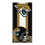 "Jacksonville Jaguars NFL ""Zone Read"" Beach Towel"