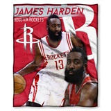 James Harden - Houston Rockets NBA Players HD Silk Touch Throw