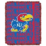 "Kansas Jayhawks ""Double Play"" Woven Jacquard Throw"