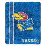 "Kansas Jayhawks ""Jersey"" Sherpa Throw"