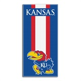 "Kansas Jayhawks ""Zone Read"" Beach Towel"