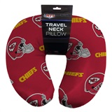 Kansas City Chiefs Beaded Neck Pillow