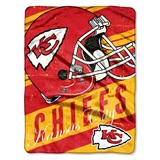 "Kansas City Chiefs ""Deep Slant"" Micro Raschel Throw"