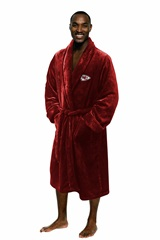 Kansas City Chiefs Large/Extra Large Silk Touch Men's Bath Robe