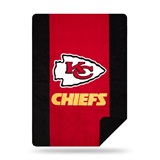 "Kansas City Chiefs NFL ""Denali"" Sliver Knit Throw"