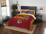 "Kansas City Chiefs NFL ""Draft"" Full/Queen Comforter Set"