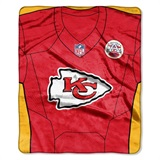 "Kansas City Chiefs NFL ""Jersey"" Raschel Throw"