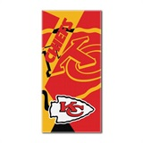 "Kansas City Chiefs NFL ""Puzzle"" Beach Towel"