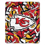 "Kansas City Chiefs NFL ""Quicksnap"" Raschel Throw"