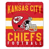 "Kansas City Chiefs NFL ""Singular"" Fleece Throw"