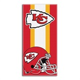 "Kansas City Chiefs NFL ""Zone Read"" Beach Towel"