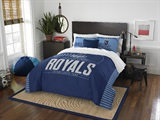 "Kansas City Royals MLB ""Grand Slam"" FullQueen Comforter Set"