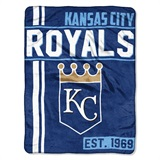 "Kansas City Royals MLB ""Walk Off"" Micro Raschel Throw"