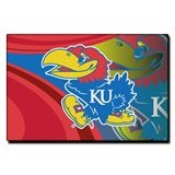 Kansas Jayhawks Large Tufted Rug