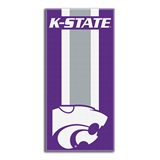 "Kansas State ""Zone Read"" Beach Towel"