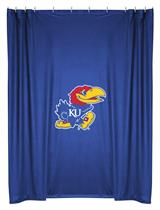Kansas U Jayhawks  Shower Curtain