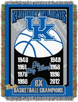 "Kentucky ""Commemorative"" Woven Tapestry Throw"