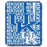 "Kentucky ""Double Play"" Woven Jacquard Throw"