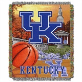 "Kentucky ""Home Field Advantage"" Woven Tapestry Throw"
