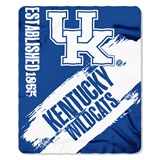 "Kentucky ""Painted"" Fleece Throw"